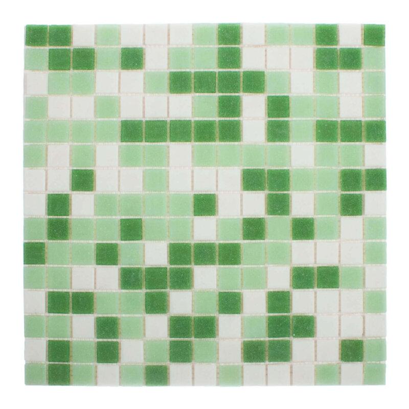 V6130061 Klaasmosaiik Roheline